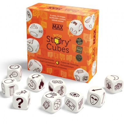 Rory's Story Cubes Max