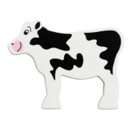 Lanka Kade Wooden Painted Animal - Calf
