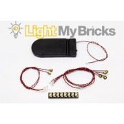 Light My Bricks Police Car kit