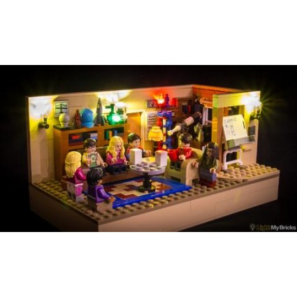 LIGHT MY BRICKS - LED Lighting for Lego - Big Bang Theory set 21302
