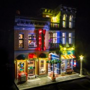 Light My Bricks LED Lighting for Lego - Detective's Office 10246