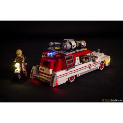 Light My Bricks Ghostbusters Ecto-1 & 2