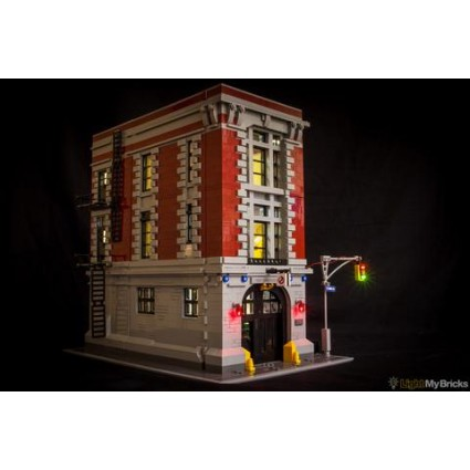 Light My Bricks Ghostbusters HQ