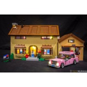 Light My Bricks Simpsons House