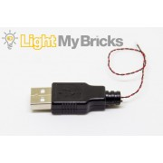 Light My Bricks USB Power Cable - 30cm cable
