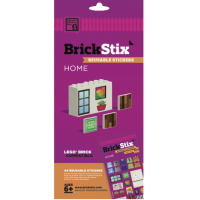 BrickStix - Reuseable stickers for your Bricks - Home