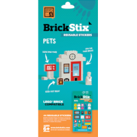 BrickStix - Reuseable stickers for your Bricks - Pets