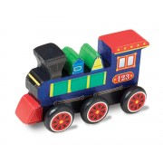 Melissa & Doug Decorate Your Own Train Kit