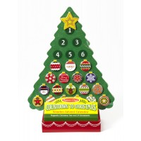 Countdown to Christmas Wooden Advent Calendar