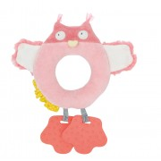Moulin Roty Mademoiselle et Ribambelle Owl ring rattle