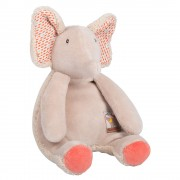 Moulin Roty Les Papoums Elephant rattle