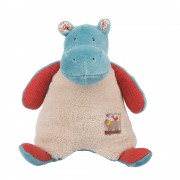 Moulin Roty Les Papoums Hippo rattle