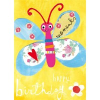 Papersalad Birthday Butterfly Birthday Card