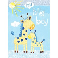 Papersalad Baby Boy Card
