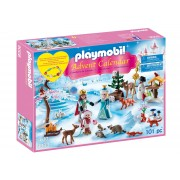 Playmobil Advent Calendar Royal Ice Skating Trip 9008