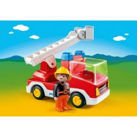 Playmobil 1,2,3 Ladder Unit Fire Truck 6967