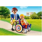Playmobil Child in Wheelchair 6663