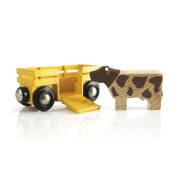 Brio Cow & Wagon 33406